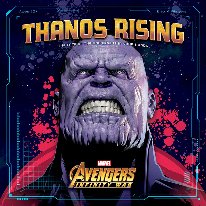 thanos rising board game
