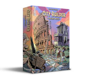 Tile-laying, city building for 1-4 players